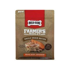En Walmart puedes conseguir una variedad en los Milk-Bone Farmer's Medley Biscuits de 12 oz a $3.87 regularmente. Compra (1) y utiliza ...