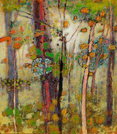 Penetrating the Mystery, 2013, Rick Stevens Abstract Tree Painting, Painting & Drawing, Abstract Art, Rick Stevens, Modern Art, Contemporary Art, Virtual Art, Tree Art, Landscape Art