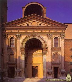 ALBERTI. Iglesia de San Andrés (Mantua). 1472.