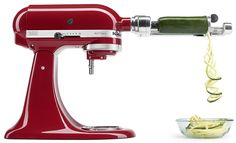 Downloadable Spiralizer Recipe Booklet in the KitchenAid Spiralizer Quick Start Guide: