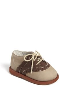 Saddle shoes for baby