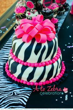 Zebra Party | A to Zebra Celebrations