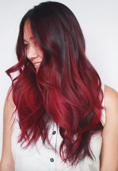 63 Yummy Burgundy Hair Color Ideas: Burgundy Hair Dye Tips & Tricks Burgundy Hair Color Shades: Wine/ Maroon/ Burgundy Hair Dye Tips Maroon Hair Dye, Maroon Hair Colors, Burgundy Hair Dye, Hair Color Auburn, Hair Color Dark, Cool Hair Color, Burgundy Color, Burgundy Highlights, Peekaboo Highlights