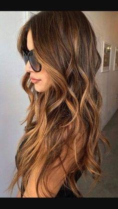 Light brown hair