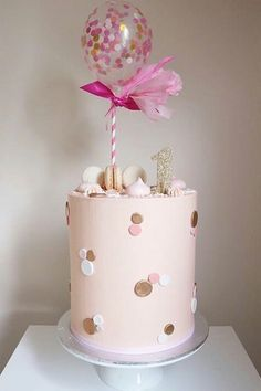 Creative Birthday Cake Ideas for Girls - lindas tortas - Creative Birthday Cakes, First Birthday Cakes, Birthday Cake Girls, Girly Cakes, Cute Cakes, Baby Girl Cakes, Cake Baby, Baby Boy, Bolo Cake