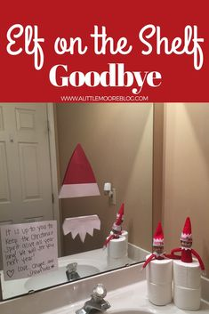Elf on the Shelf a goodbye last night Idea that will help your kids keep the Christmas spirit all year long.