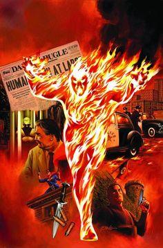 Secret Avengers Spotlight: The Human Torch  by Steve Epting