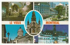 Postcards - Canada #  687 - The Old Montreal, Quebec