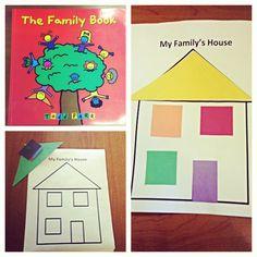 Preschool family lesson plan activity
