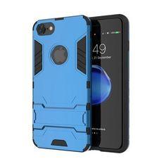 KISSCASE Armour Kick-Stand Case For iPhone 5, 5S, 5C, SE, 6, 6 Plus, 6S, 6S Plus, 7, 7 Plus, 8, 8 Plus