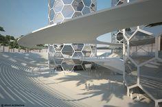 The Nano Towers // Dubai // UAE // Allard Architecture // 3