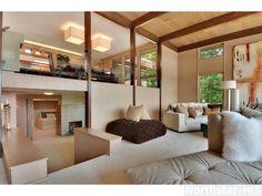 #midcentury modern living room. Amazing!