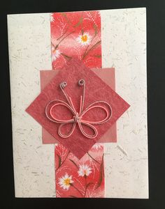 Asian look . Hand Made Greeting Cards, Making Greeting Cards, Greeting Cards Handmade, Japanese Greetings, Mini Albums, Asian Crafts, Origami Cards, Chinese New Year Card, Envelope Art