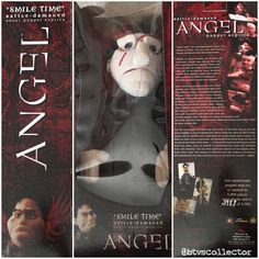 "Diamond Select Toys - Angel ""Smile Time"" Battle-Damaged Puppet Prop Replica. 3987/5000. #btvscollector #btvs #buffy #buffythevampireslayer"