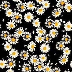 Cute Daisies by Soho Textile Design Seamless Repeat Royalty-Free Stock Pattern Textile Patterns, Textile Prints, Textile Design, Print Patterns, Floral Prints, Floral Patterns, Daisy Wallpaper, Spider Art, Fashion Wall Art