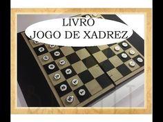 Livro Jogo De Xadrez - Estúdio Brigit