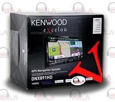 "Sourcing-LA: Kenwood Excelon DNX891HD 6.95"" Touchscreen DVD Nav..."