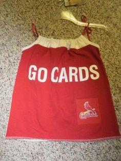 St. Louis Cardinals Baseball Dress