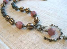 Jewelry made with czech glass melons Metal Clay Jewelry, Jewelry Box, Jewelry Making, Bead Studio, Making Glass, Bead Store, Bead Kits, Beading Supplies, Czech Glass Beads