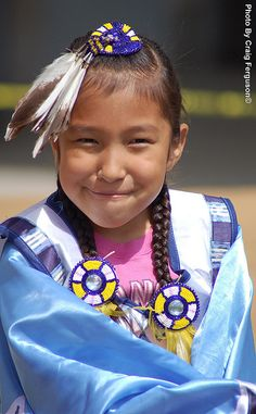 Native American Girl by cferg777, via Flickr