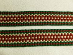 Chiara   Hand Woven Inkle Trim 1 wide by marinadafiore on Etsy, $20.00
