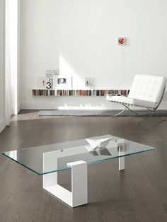 #glass coffee #table PLINSKY | #design Giulio Mancini #interiors
