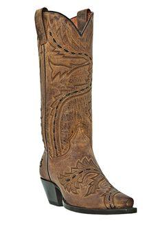 bd014b509c5 Dan Post Women s Sidewinder Western Fashion Boots - Tan