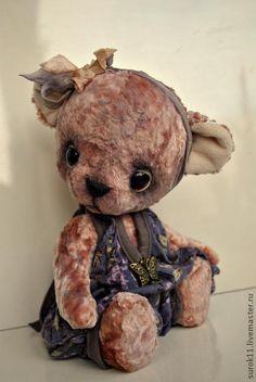 Мишки Тедди ручной работы. Ярмарка Мастеров - ручная работа Даша. Handmade.