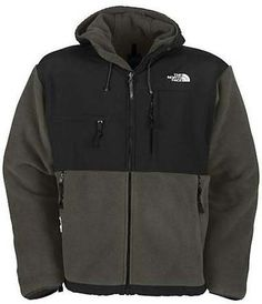 north face jacket,$69,  Cheap North Face Mens Denali Hoodies Grey Outerwear Half Off Site