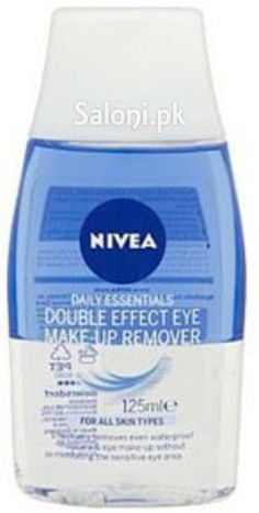 NIVEA DAILY ESSENTIALS DOUBLE EFFECT EYE MAKEUP REMOVER 125 ML Saloni™ Health