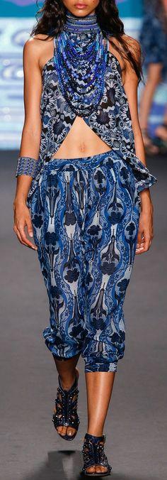 ♥ #BOHEMIAN ☮ #GYPSY ☮ #HIPPIE   Boho chic fashion  Anna Sui   Spring '14