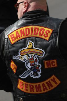Bandidos Motorcycle Club of Berlin Germany Motorcycle Tattoos, Bobber Motorcycle, Motorcycle Clubs, Motorcycle Outfit, Steampunk Motorcycle, Motorcycle Couple, Tracker Motorcycle, Motorcycle Adventure, Club