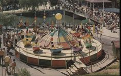 Tip-Top Postcard « East Main Ave. Hershey Park, Carnival Rides, Local History, Hershey Pennsylvania, See Photo, Playground, Hershey Chocolate, Dolores Park, Amusement Parks
