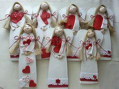 Pasja dekorowania                                                 : Anielinki - podziękowanie
