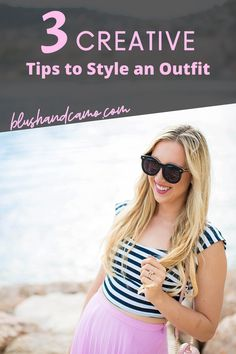 The 3 most creative tips when it comes to styling an outfit and breaking the clothing titles that are in the fashion world. #fashiontips #fashionhacks #styletips #styleblogger #fashionblogger