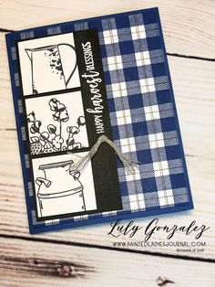 Painted Ladies Journal: Country Home and Plaid Buffalo Plaid, Mini Albums, Country, Painted Ladies, Home, Digital Scrapbooking, Stampin Up, Rural Area, Country Music