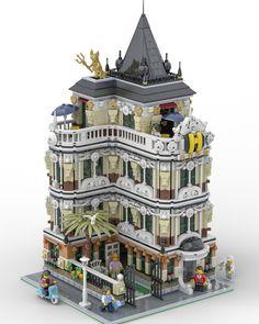 LEGO IDEAS The Lion Hotel Created by Bricky_Brick Lin