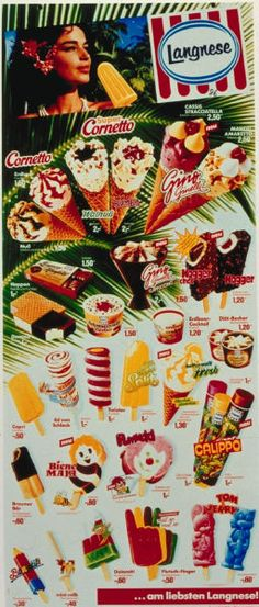 Die Karten sind ende der 80ziger bis mitte ende der 90ziger 90s Childhood, My Childhood Memories, Sweet Memories, Good Old Times, The Good Old Days, Vintage Ads, Vintage Posters, Ice Cream Poster, Ice Cream Van