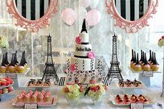 Tudo Festas: Temas Criativos para aniversários: Paris #2
