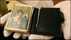 Elvis' billfold as it was at the time of his death.
