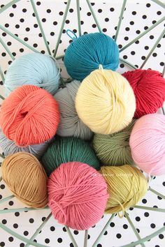 New yarn! Malmedy 100% wool