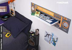 Rocket's music inspired furniture