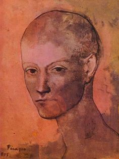 Pablo Picasso - Head of Young Man