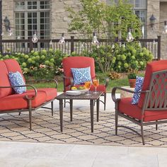 Shop our Patio Furniture Department to customize your Oak Cliff Collection today at The Home Depot.