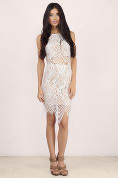 Pretty Thoughts Lace Skirt at Tobi.com #shoptobi