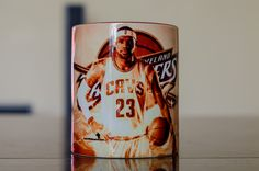Lebron James 23 Cavaliers NBA basketball mug tea by Mugforyourhome