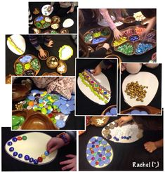 """Decorating the eggs... from Rachel ("""",)"""