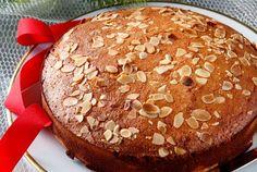 Greek recipes vasilopita cake - Recipes tips Greek Sweets, Greek Desserts, Greek Recipes, Greek Appetizers, Vasilopita Cake, Greek Bread, Greek Cake, Food Cakes, New Year's Cake