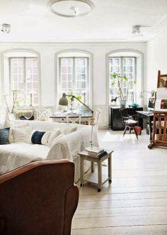 5 dreamy spaces XVIV | Daily Dream Decor - asymmetrical furniture arrangement