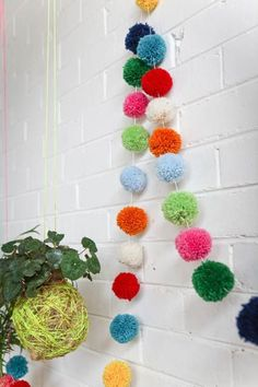 Pom Pom Garland by Little Lamb